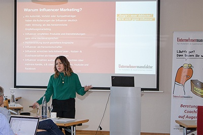 "Melissa Hamster: ""Influencer-Marketing"" (Netzwerktreffen 2018)"